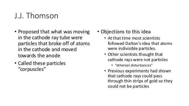 where did jj thomson discovered the electron