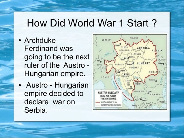 """why did world war 1 begin essay 1 gavrilo princip as every schoolboy should know, it was the  a treaty  obligation given to belgium in 1830 – a """"piece of paper"""" as  in other words, had  we not had an arms race, the war might easily have started sooner."""