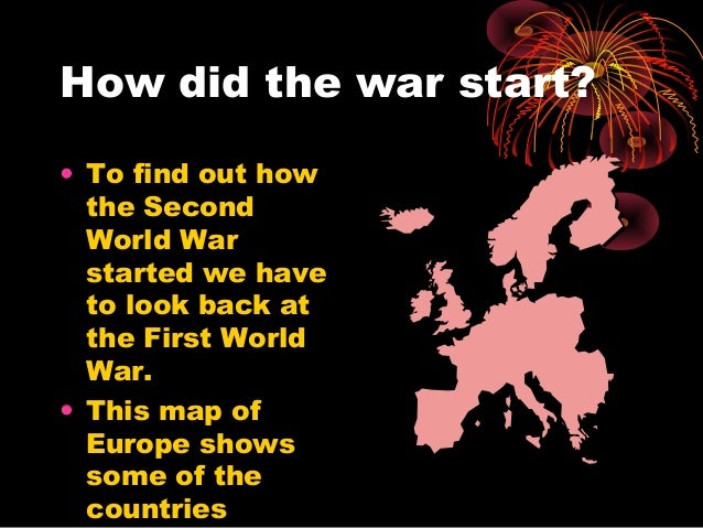 why did ww1 start World war i (often abbreviated to wwi or ww1), also known as the first world war, the great war, or the war to end all wars, was a global war originating.