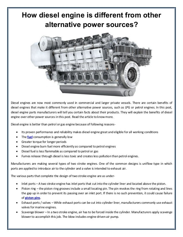 how to build a performance diesel engine