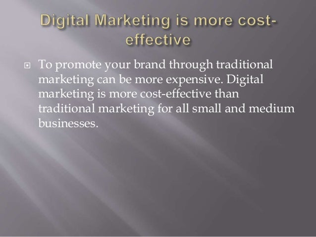 Reflection how can marketing assist you