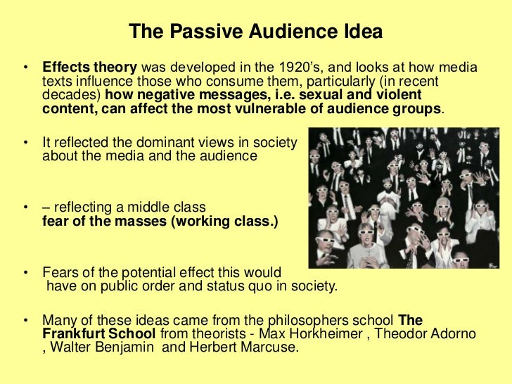 How do audiences read media texts Slide 3