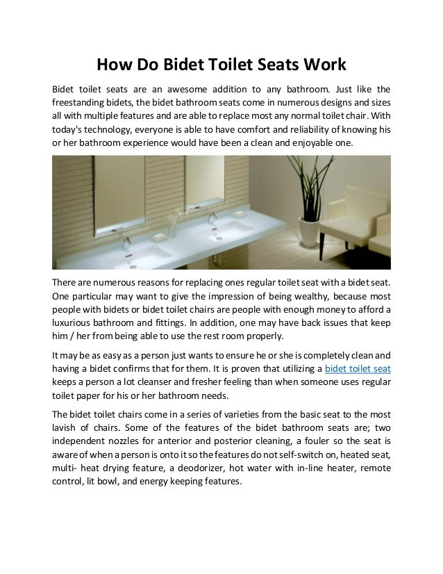 Magnificent How Do Bidet Toilet Seats Work Forskolin Free Trial Chair Design Images Forskolin Free Trialorg