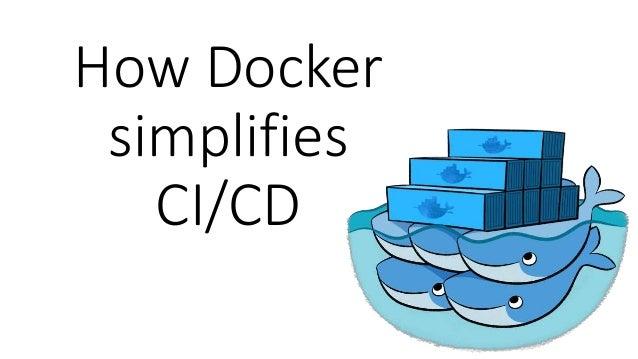 How Docker simplifies CI/CD