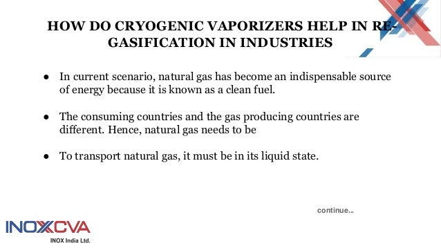 How Do Cryogenic Vaporizers Help In Re Gasification In