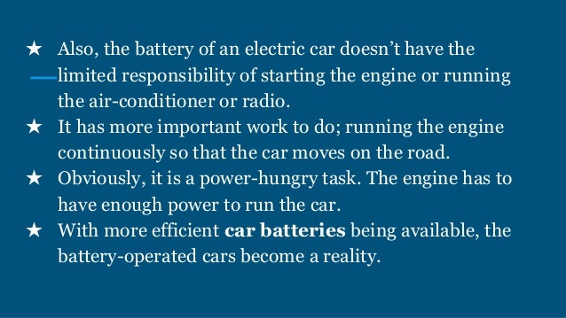 How Do Electric Car Batteries Work?