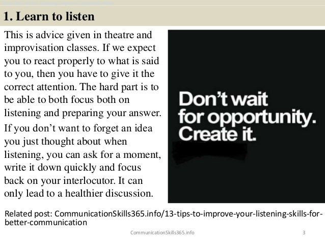How does active listening improve communication pdf free