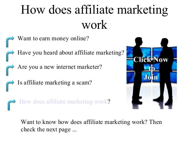 How does affiliate marketing           workWant to earn money online?Have you heard about affiliate marketing?Are you a ne...