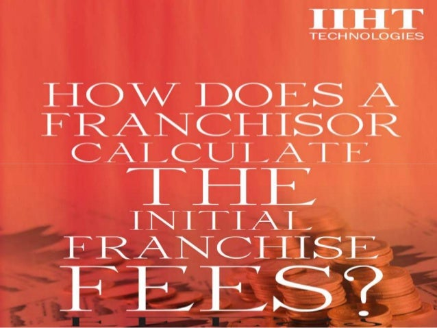 For a Franchisor, Franchise Fee is a huge source of capital that suffices needs of capital and other crucial expenses of t...