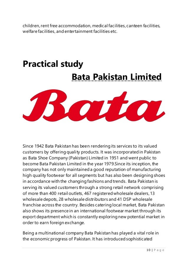 bata shoes ltd case study Bata (also known as bata shoe organization) is a family-owned global footwear and fashion accessory manufacturer and retailer with acting headquarters located in lausanne, switzerland.