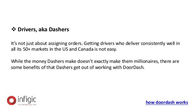 How does DoorDash works