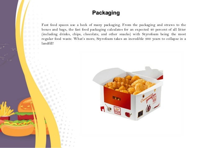 Fast Food Packaging Affect The Environment