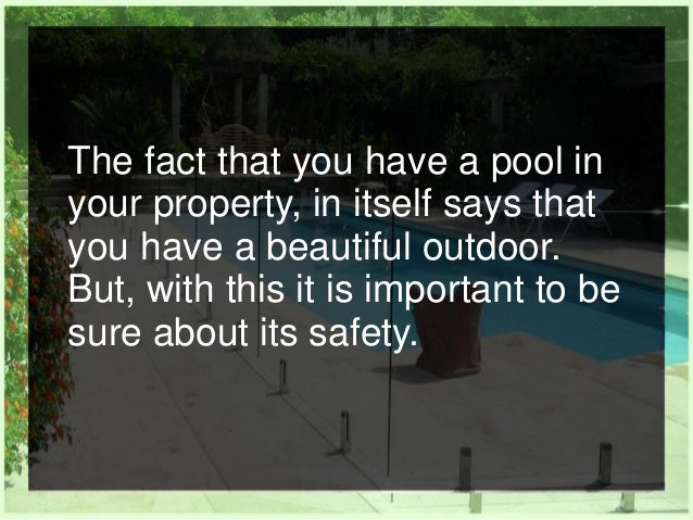 How Does Frameless Glass Pool Fencing Beautify Your Property Slide 2