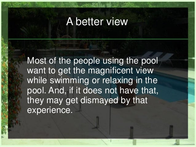 How Does Frameless Glass Pool Fencing Beautify Your Property Slide 3