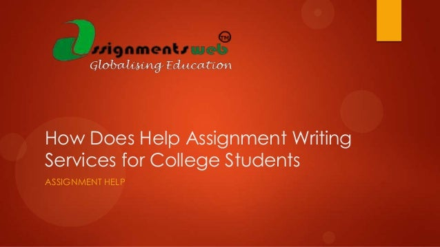 Can you do my assignment for me