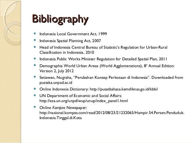 bibliography define