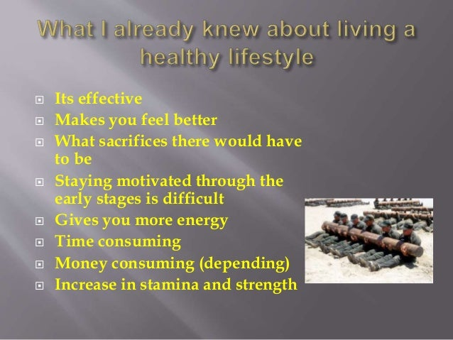 How does living an active lifestyle affect one's emotional wellbeing. final copy Slide 3