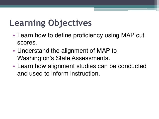 Predicting Proficiency… How MAP Predicts State Test Performance