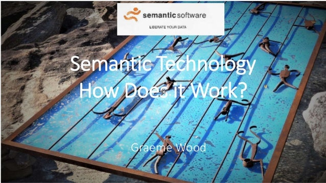 Semantic Technology How Does it Work? Graeme Wood