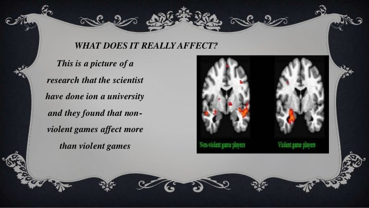 "how video games affect the mind This is your child's brain on video games video games leave kids revved up, stressed out, and primed for a meltdown  wells, stefanie l ""moving through the curriculum: the effect of movement ."