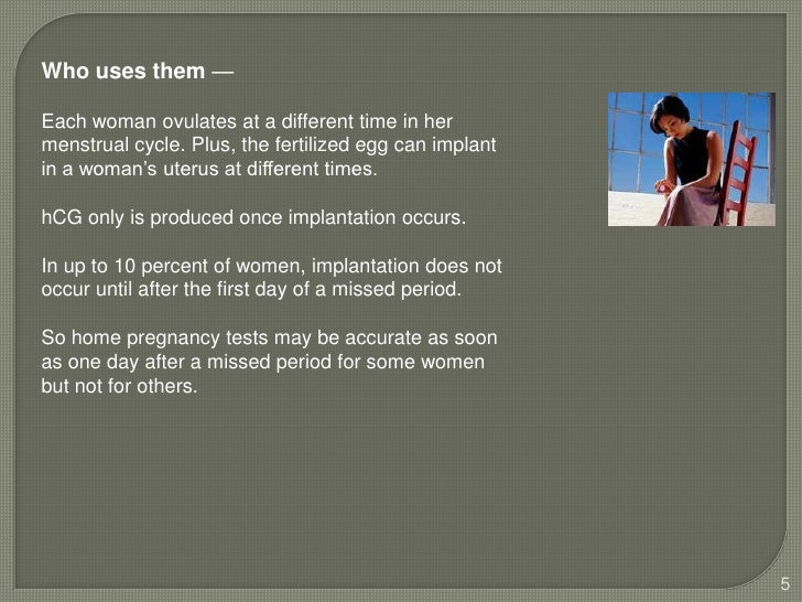 How Do Home Pregnancy Tests Work