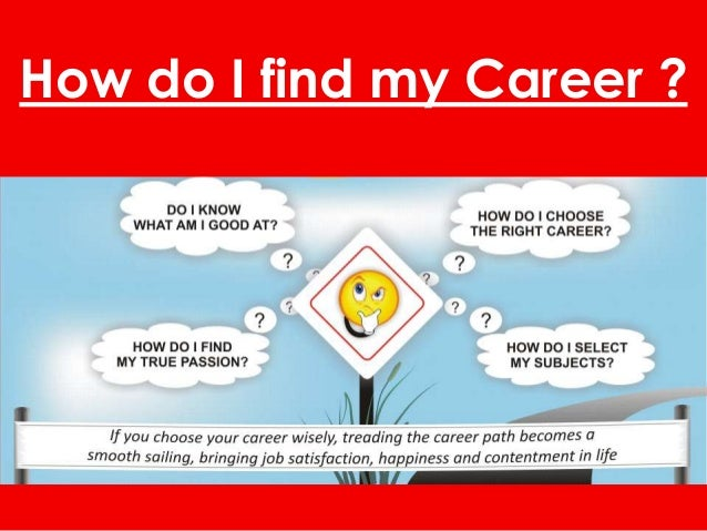 How do I find my Career ?
