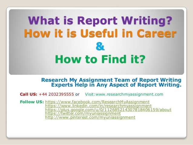 Help me writing a report visit