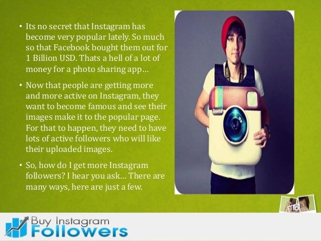 How do i get more followers on instagram Slide 3