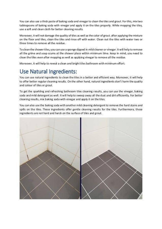 How Do I Get My Bathroom Tiles To Shine Again