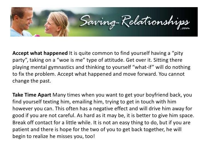 How Do I Get My Ex Boyfriend Back? - 5 Critical Steps You ...