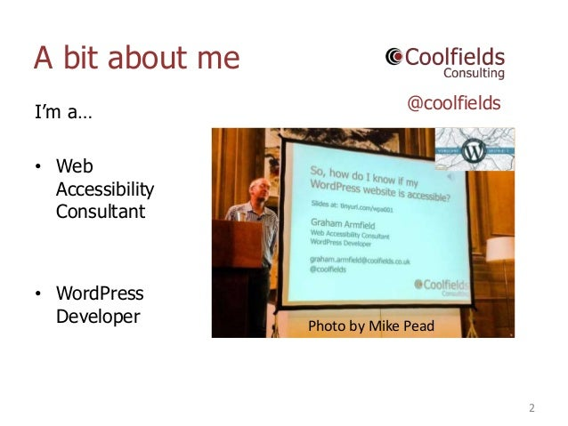 So, How Do I Know if my WordPress Website is Accessible? Slide 2
