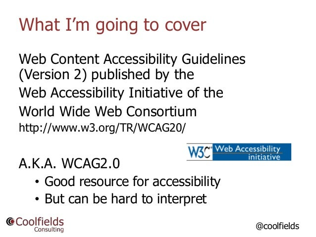 So, How Do I Know if my WordPress Website is Accessible? Slide 3