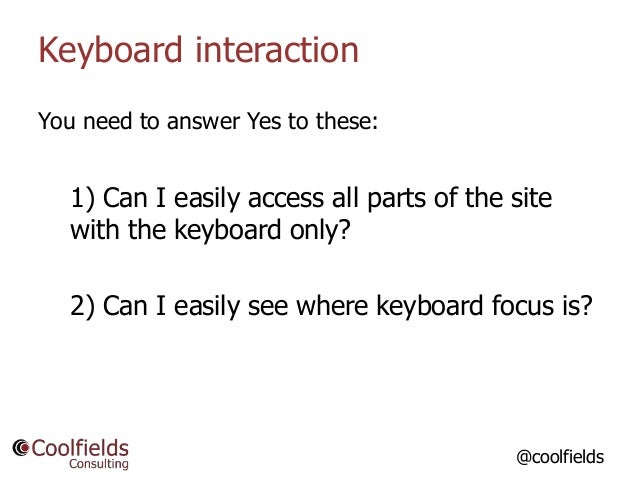 So, How Do I Know if my WordPress Website is Accessible? slideshare - 웹