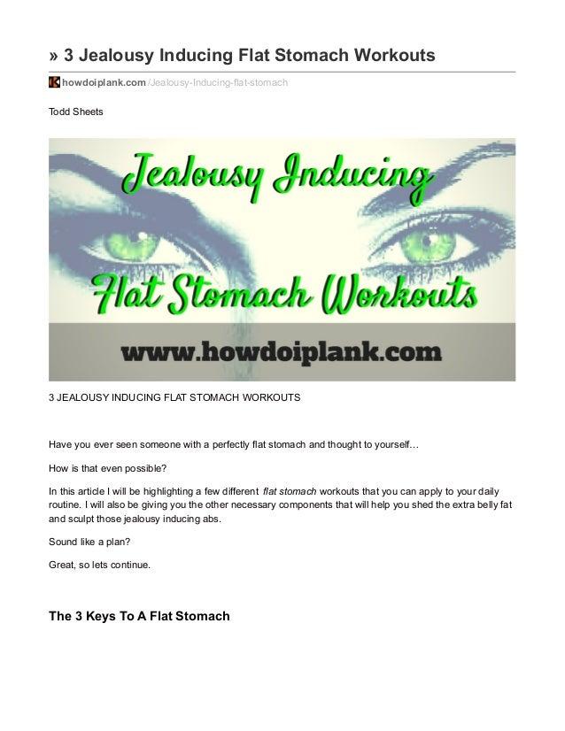 3 Jealousy Inducing Flat Stomach Workouts Howdoiplank