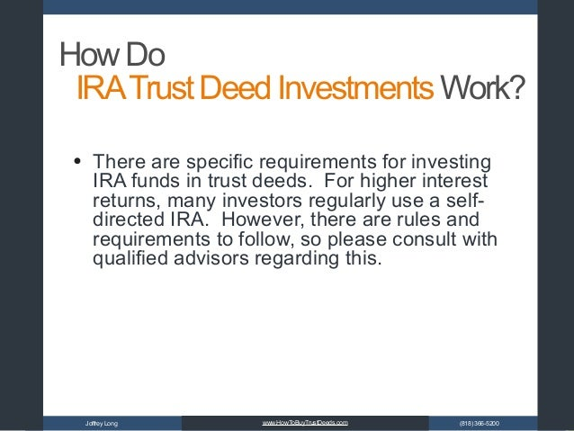 self directed ira qualified investments