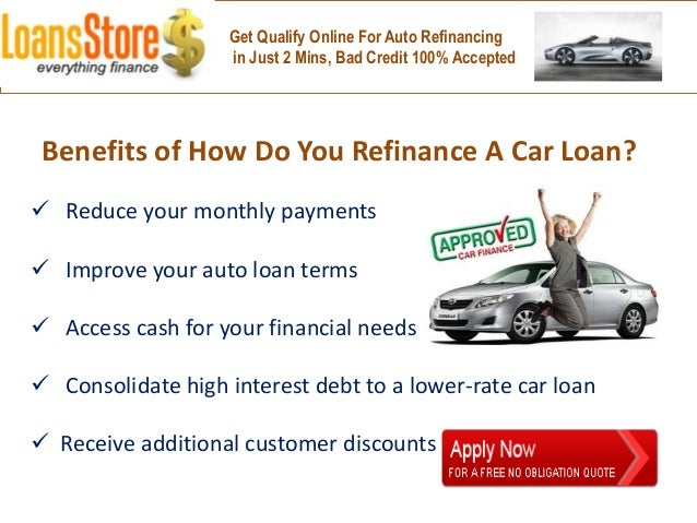 How Do I Refinance My Car Loan