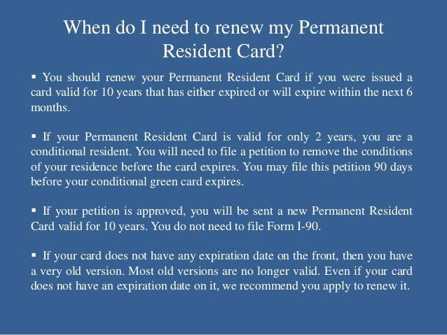 How Do I Renew or Replace a Green Card