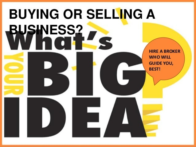 how to buy and sell companies