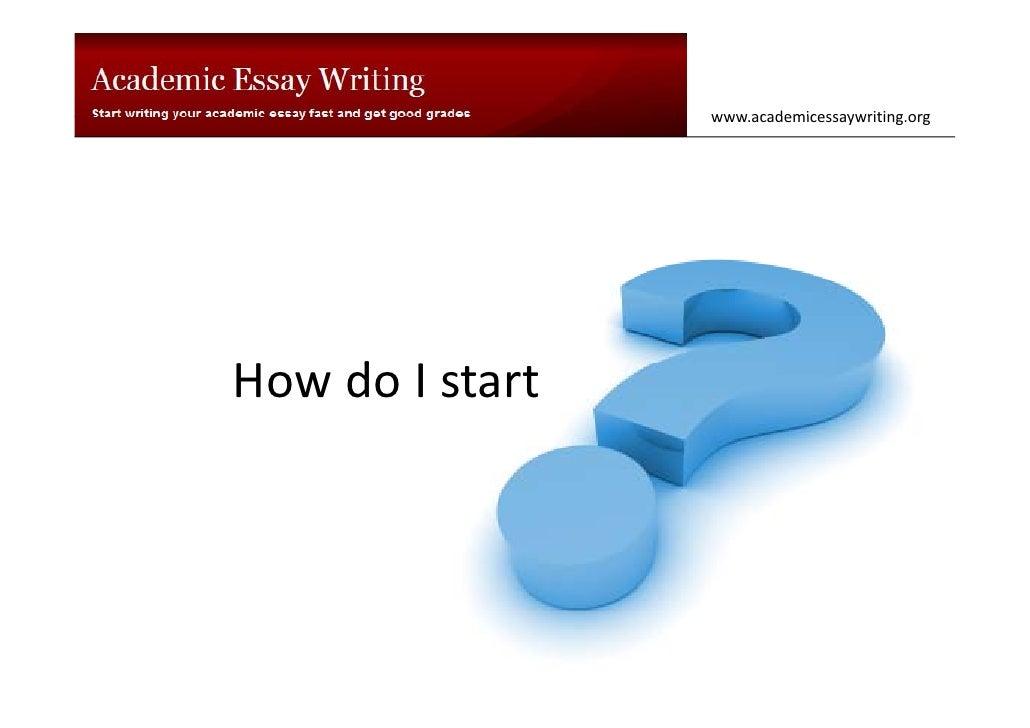 How do I start<br />