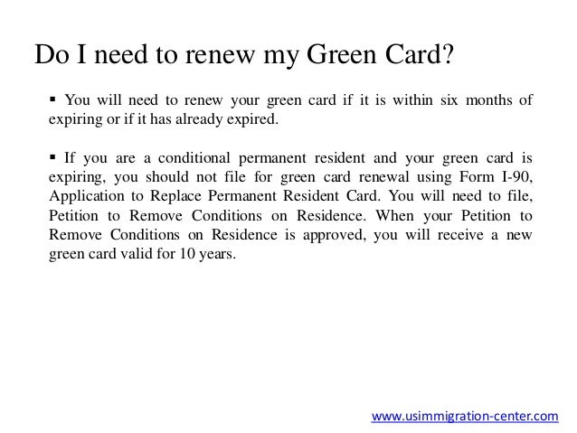 How do I start the Green Card Renewal Process
