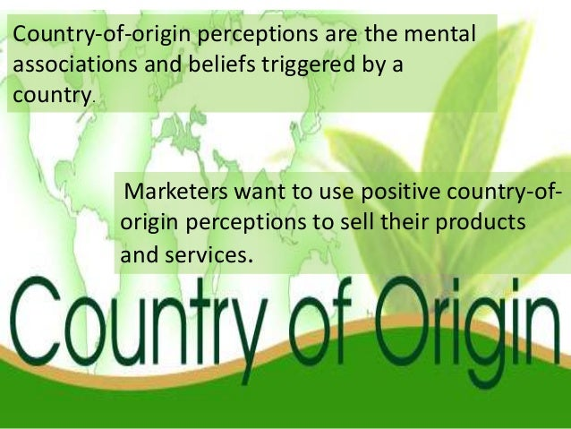 country of origin effects on subsidiaries Hrm in the host country context country-of-origin effect these parent-country-based hrm practices in their foreign subsidiaries 8 host-country effect.