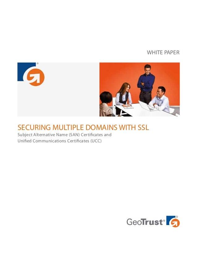 How Do Multi Domain Ssl Works Rapidsslonline