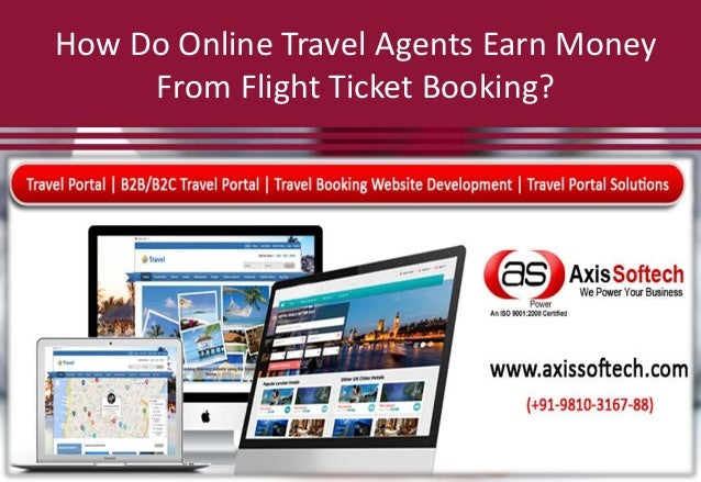 How Do Online Travel Agents Earn Money From Flight Ticket Booking?