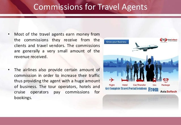 Travel Agent Fees Commissions