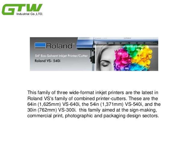 How Do Roland VS-i Series Work & Innovation For Previous Models Slide 2