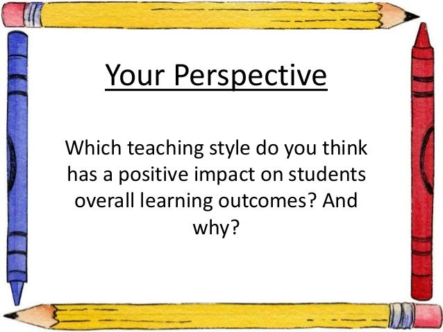Impact Of Classroom Design On Teaching And Learning ~ Student teacher relationships and learning outcomes