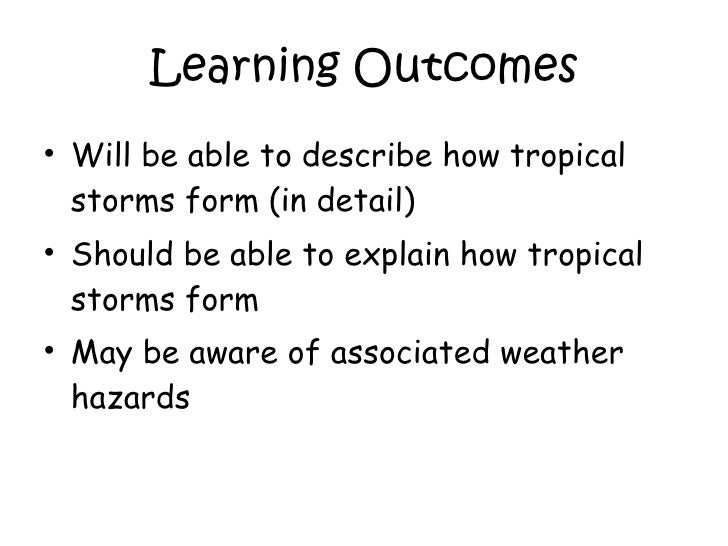 explain the causes of tropical revolving / tropical storms, hurricanes, typhoons and cyclones tropical storms high winds cause major damage to infrastructure and housing.