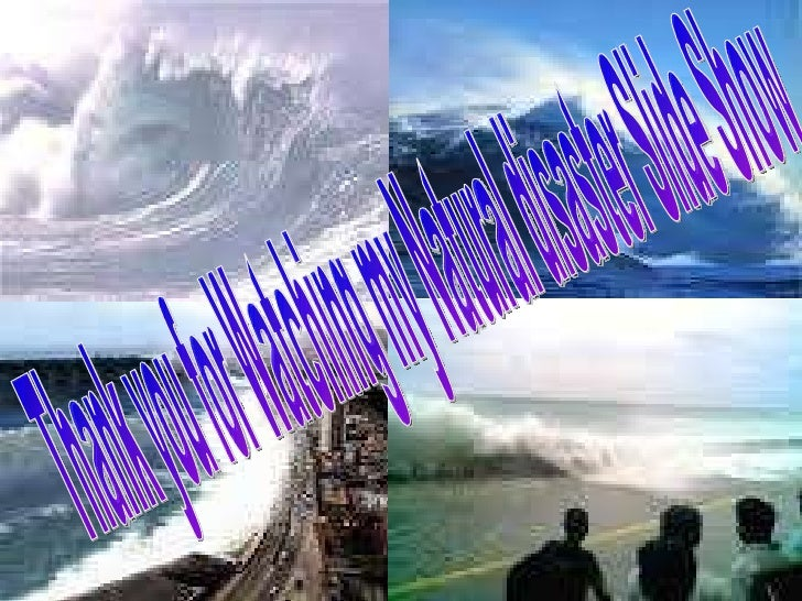 How Do Tsunamis Occur - Fresh tsunami powerpoint presentation design