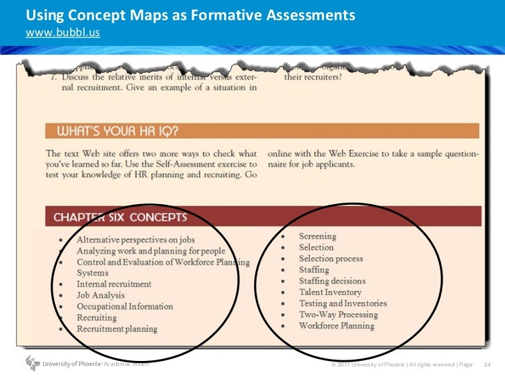 Formative Assessment Classroom Techniques Using BloomS Mastery Learn