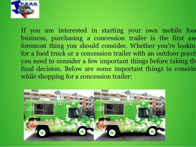 How do you buy a concession food trailer Slide 2